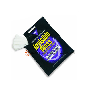 Single pack Wet Wipes for Glass