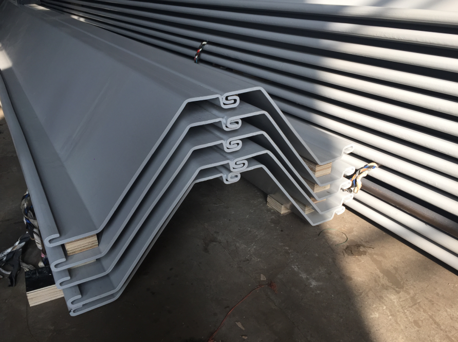 What are the domestic Larsen sheet piling manufacturers