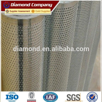 supply various hole type perforated metal mesh/perforated metal mesh from Anping direct factory