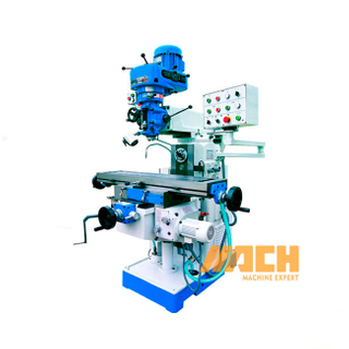 X6328B China Vertical Economic Universal Turret Milling Machine