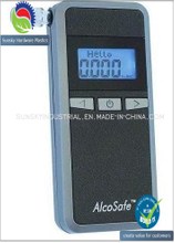 Breath Alcohol Tester LCD Display Blue Backup Light (AT60108)