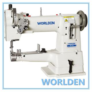 WD-335选拔针一致进给油缸床缝纫机