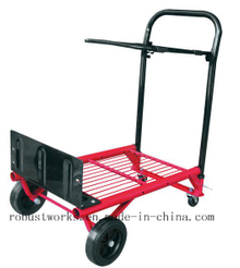 Steel Frame Multi Function Foldable Hand Truck (HT042)