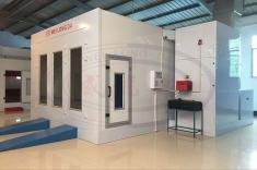 WLD8200 Spray Booth In Showroom