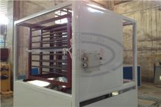 Spray Booth Cabinet With Electric Heating Bars