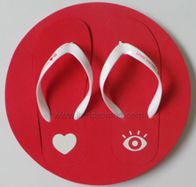 Custom Logo EVA Frame Advertising Slipper