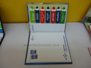 Office Supply Gift Post it Sticky Note Memo Pad Set