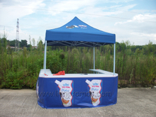 Cameroun Dairy Industry Royal Crown Logo Display Tent