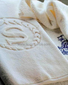 Sheraton Hotel Logo Embroidery Sateen Bath Towel Face towel Set