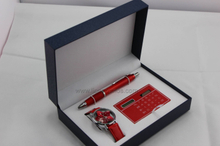 Lady Business Gift Watch Wallet Pen Necklace Gifts Set