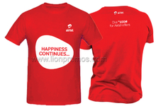 Airtel Logo Gift Cotton T.Shirt