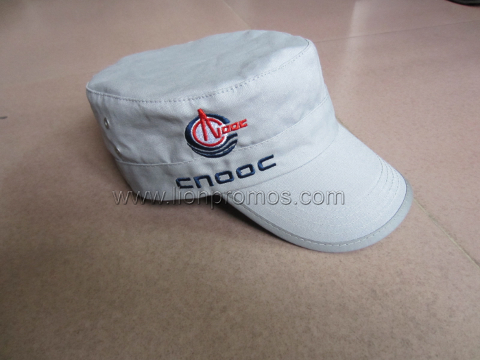 China National Offshore Oil Corporation Logo Army Cap