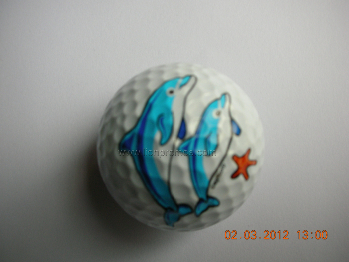 Logo Branded Promotional Trainning Golf Ball