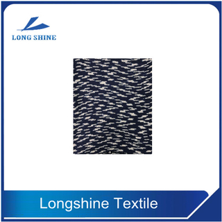Manufacturer 1/3.8NM 100% Cotton Dyed Blue Anti-Pilling Eyelash Yarn for Knitting