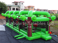 RB5205(15x4.5x4.5m) Inflatable Orchard Dash   long obstacle courses for sales