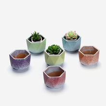 best selling color glazed stoneware flower pot