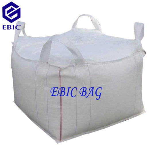 Big Bag with tubular body and cross corner loops