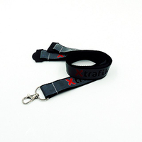 Reflective lanyards with custom print logo