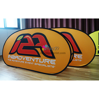 POP up A-Frame Banner Printing Portable Outdoor Event Display Flag Advertising Banner