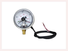 PG-013 Magnetic electric contact Pressure Gauges with bottom connection