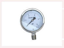PG-022 All stainless steel Capsule Low Pressure Gauges with bottom connection