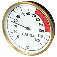 SP-X-22W Sauna Thermometer