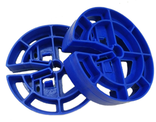 Heavy duty wheel spacer