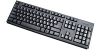 Computer Keyboard, Popular in Euro Market (KB-006)
