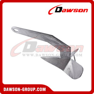 Heavy Duty Hot Dip Galvanized Fixed Head Plough Anchor / H.D.G.