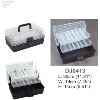 DJ0413 2 Tray Fishing Assortment Box