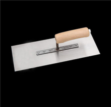 High Hardness Wood Handle Plastering Trowel for Construction Scraper