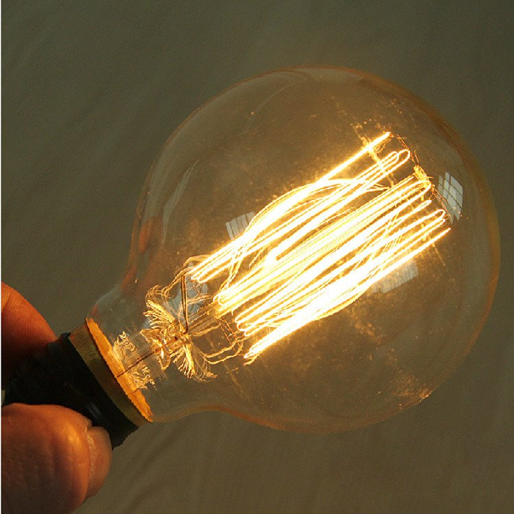 with 10 Years Manufacturer Experience Factory Supply Safety Edison Bulb L80 E27 Carbon Filament Bulb