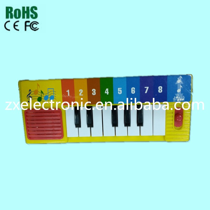 Factory price piano digital piano china with yellow color for toy