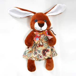 Cute brown Rabbit Lovely Easter Bunny Bag for gifts