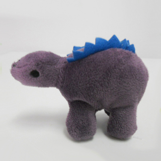 Plush Stuffed Toy Stegosaurus Finger Puppet for Kids