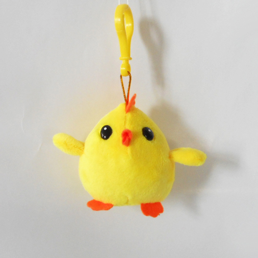 Custom Soft Plush Chicken Toy Keychain
