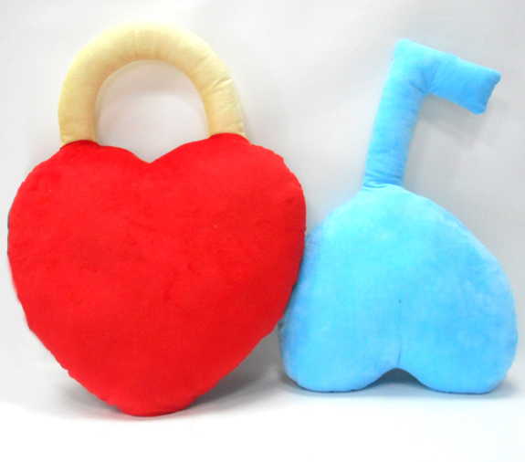 Valentine Gift Pillow Cushion Plush Soft Cushion