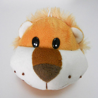 Cute Soft Plush Lion Shaped Coin Purse for Kids