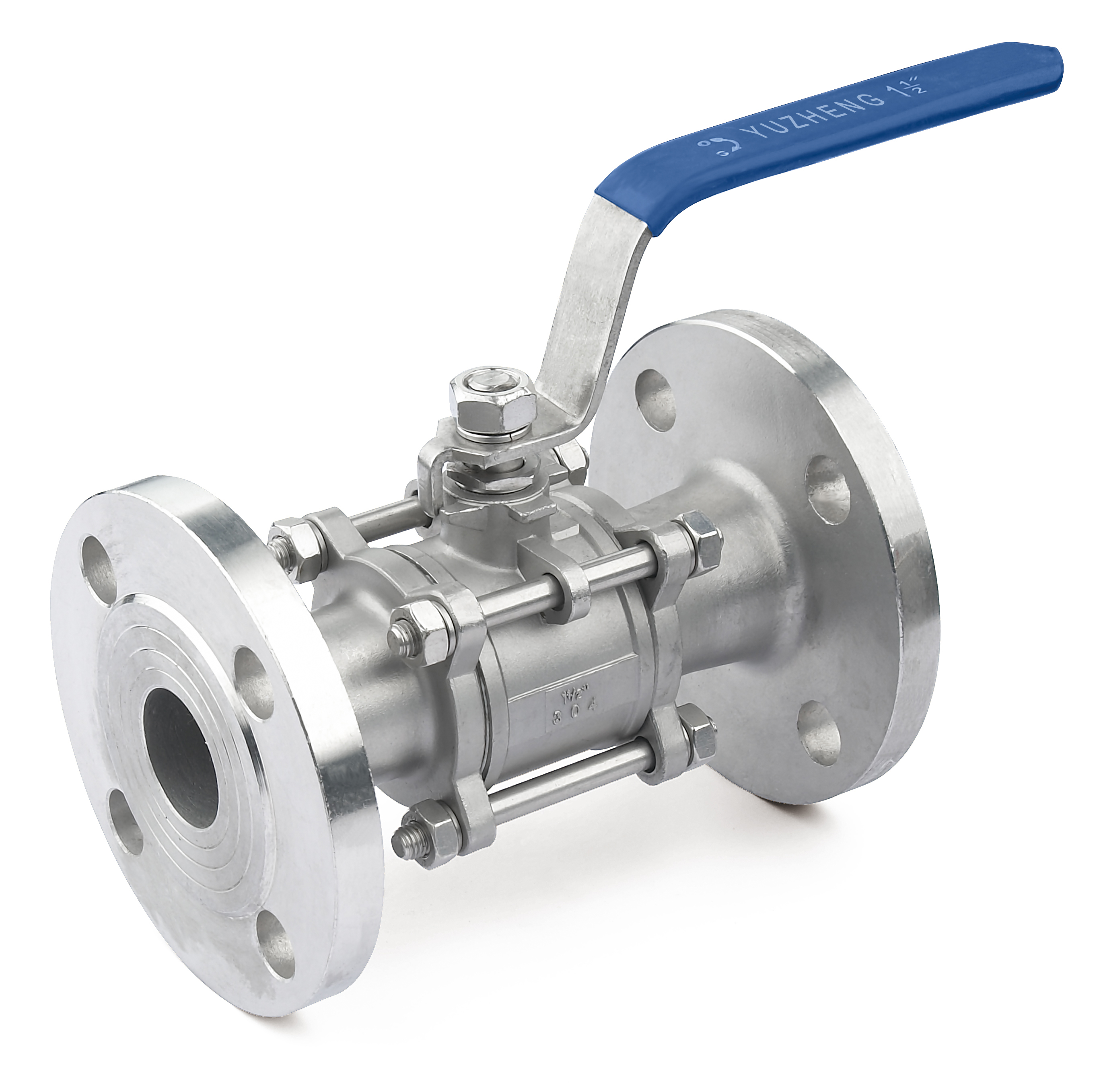 3PC Stainless Steel Flange Ball Valve
