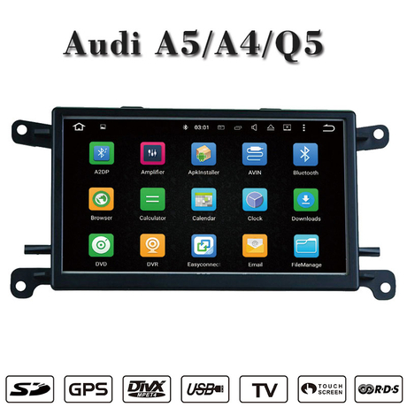 Android for Audi A4 / Q5 / A5 car videos gps Navigatior wifi connection