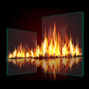 Heat insulated Composite fire rated glass