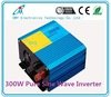 300W 12/24Vdc to 110/220Vac pure sine wave solar power inverter motor power supply