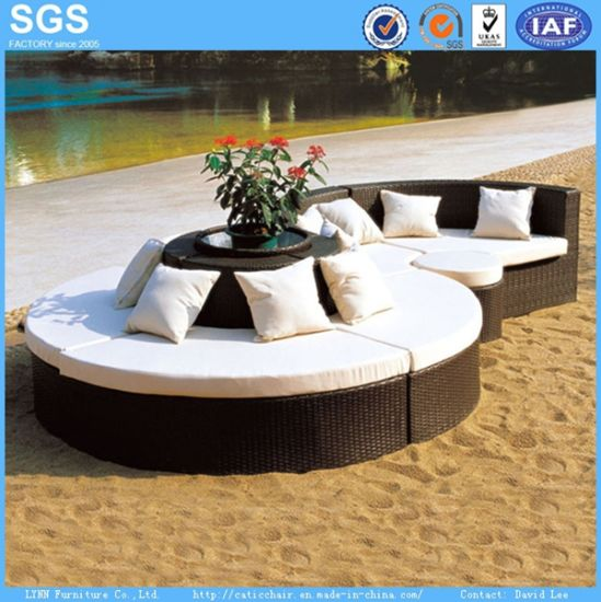 Garden Hotel Furniture Combination Sofa Rattan Sofa