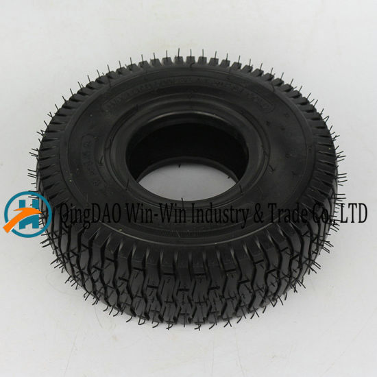 New Pattern Rubber Wheel Used on Trolley Wheel (3.50-4)