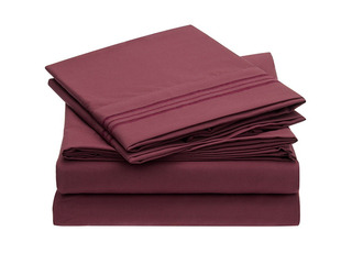 Solid-microfiber-sheet-set