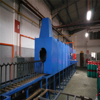 High Temperature Heat Treatment Furnace for LPG Cylinder