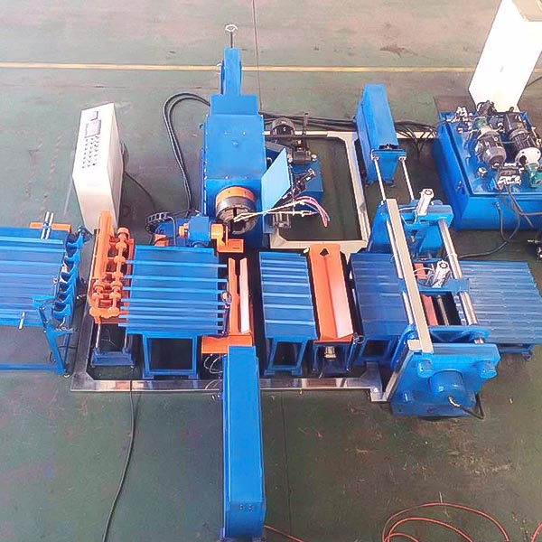 CNG Cylinder Hot Spinning Machine