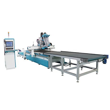 RM482BF Double Spindle+Multi-Driller Automatic Loading and Unloading Nesting Machining