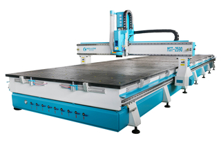 MST-2590 Moveable crossbeam processing center