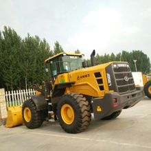 Shandong Lingong 5t Wheel Loader LG956L for Mining, Rock or Coal